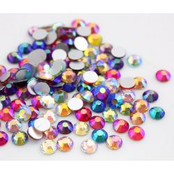 Stikliniai įvairių splavų AB akmenukai 100vnt. MIX dydžiai