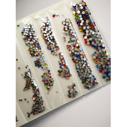 Stikliniai CRYSTAL MIX akmenukai