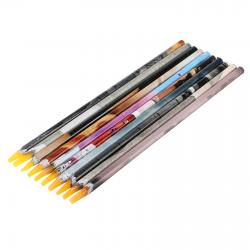Vaškinis pieštukas akutėms paimti