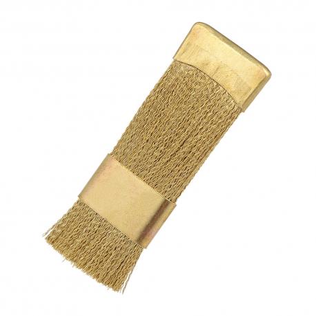 Metalinis šepetėlis frezos antgaliams