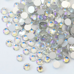 Glass rhinestones  MOON NIGHT 100pcs