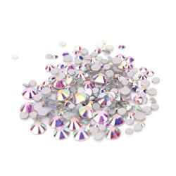 Stikliniai chameliono akmenukai 100vnt. MIX dydžiai