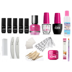FLEXY Gel polish and nail extension set