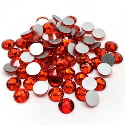Stikliniai CITRINE akmenukai 100vnt. MIX dydžiai