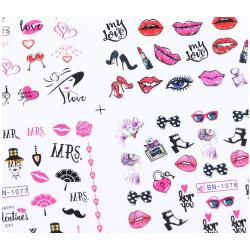 Sticker Love in PINK