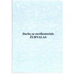 Sterilizatorių darbo žurnalas 48 lapų