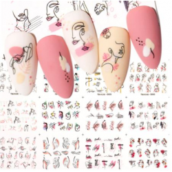 Nail water decals