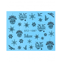 Nail stickers STZ-1087