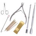 Įrankiai, šepetėliai
