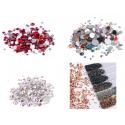 Rhinestones and beads