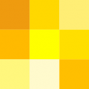 Yellow, orange